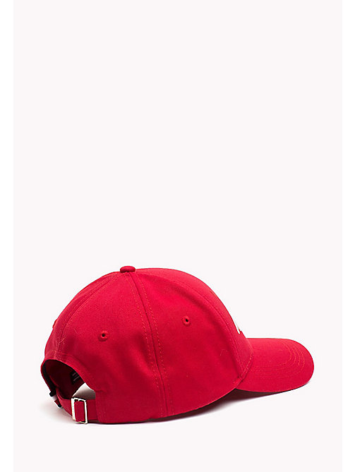 TOMMY HILFIGER Team Tommy Cotton Cap - CRIMSON - TOMMY HILFIGER Bags & Accessories - detail image 1