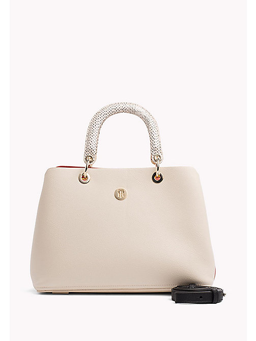 TOMMY HILFIGER Satchel Handbag - TAPIOCA MIX -  Occasion wear - main image