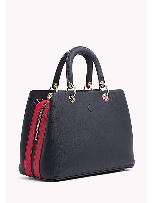 TOMMY HILFIGER Satchel Handbag - TOMMY NAVY / TOMMY RED - TOMMY HILFIGER VACATION FOR HER - detail image 1