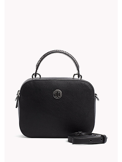 TOMMY HILFIGER Compact Crossover Bag - BLACK - TOMMY HILFIGER VACATION FOR HER - main image