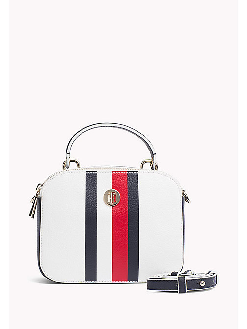 TOMMY HILFIGER Compact Crossover Bag - CORPORATE MIX - TOMMY HILFIGER Crossbody Bags - main image