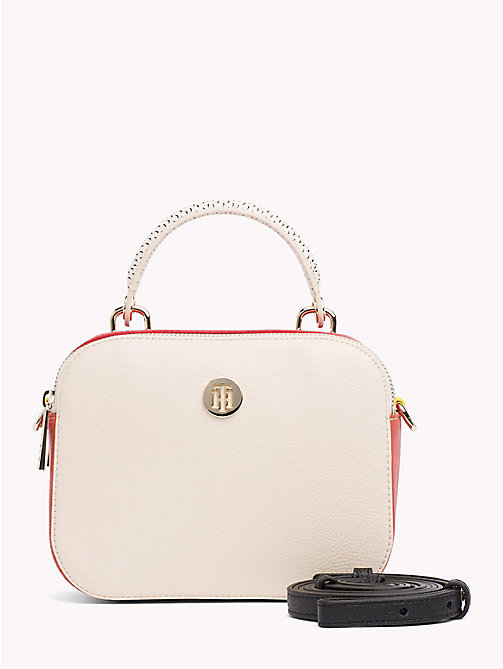 TOMMY HILFIGER Compact Crossover Bag - TAPIOCA MIX - TOMMY HILFIGER Occasion wear - main image