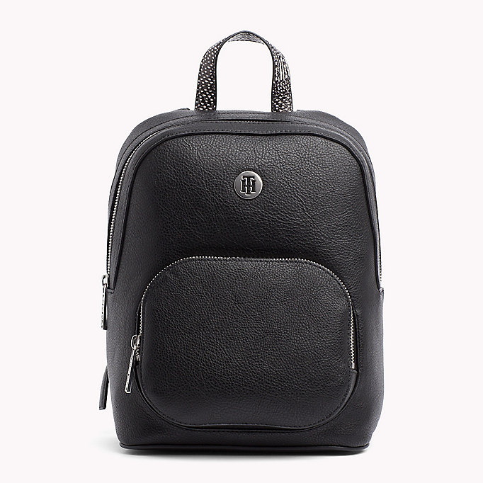 TOMMY HILFIGER Monogram Logo Classic Backpack - TAPIOCA MIX - TOMMY HILFIGER Women - main image