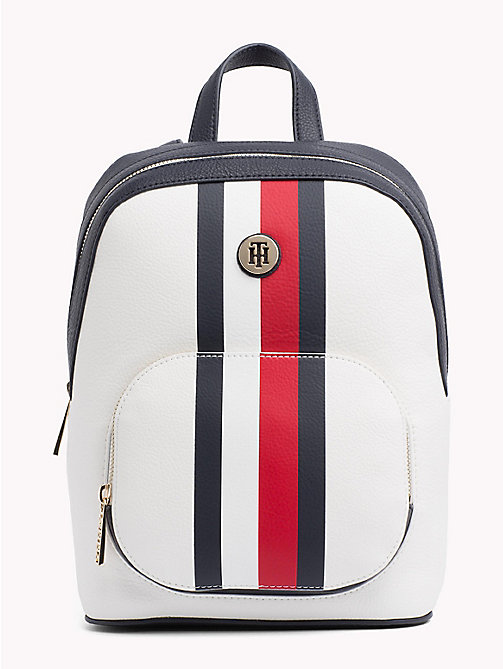TOMMY HILFIGER Monogram Logo Classic Backpack - CORPORATE MIX - TOMMY HILFIGER VACATION FOR HER - main image