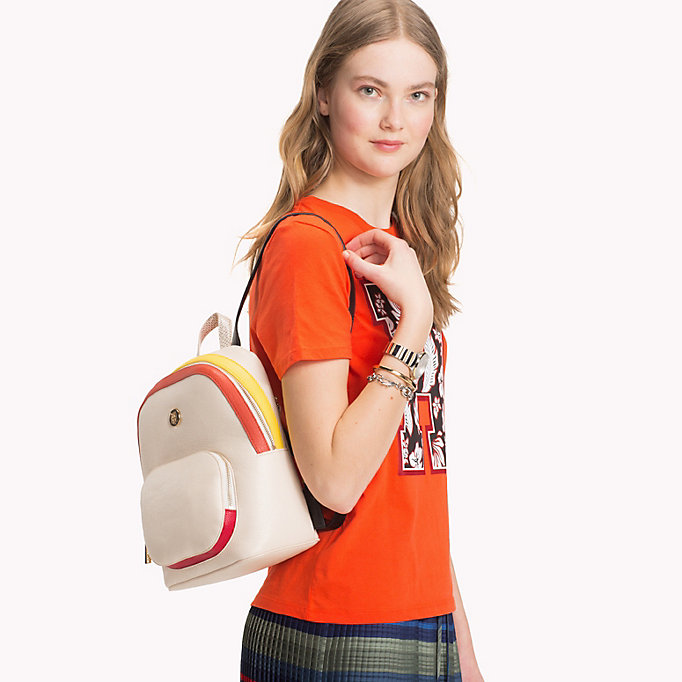 TOMMY HILFIGER Monogram Logo Classic Backpack - CORPORATE MIX - TOMMY HILFIGER Women - detail image 3