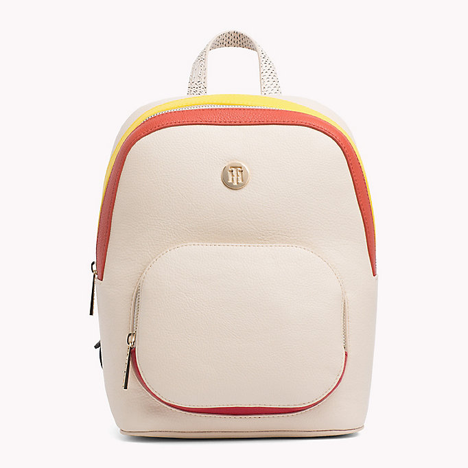 TOMMY HILFIGER Monogram Logo Classic Backpack - CORPORATE MIX - TOMMY HILFIGER Women - main image