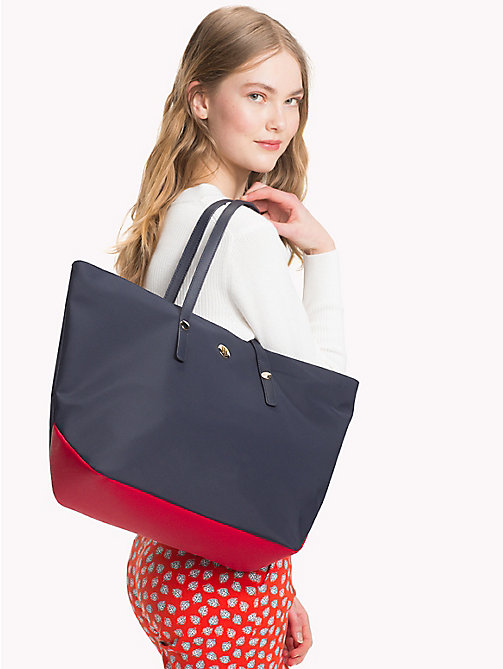 TOMMY HILFIGER Nylon Monogram Tote - CORPORATE CB - TOMMY HILFIGER VACATION FOR HER - detail image 1