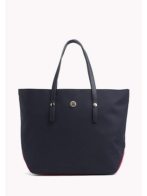 TOMMY HILFIGER Nylon shopper met monogram - CORPORATE CB - TOMMY HILFIGER Shoppers - main image