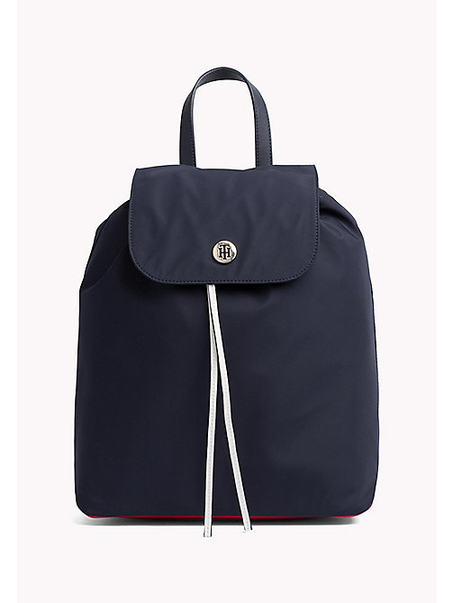 TOMMY HILFIGER Nylon Monogram Backpack - CORPORATE CB - TOMMY HILFIGER Backpacks - main image
