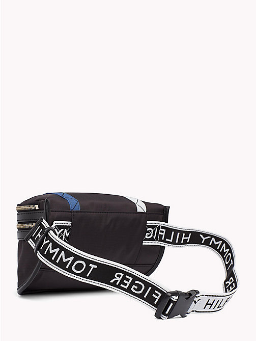 TOMMY HILFIGER Logo Strap Bum Bag - BLACK -  Crossbody Bags - detail image 1