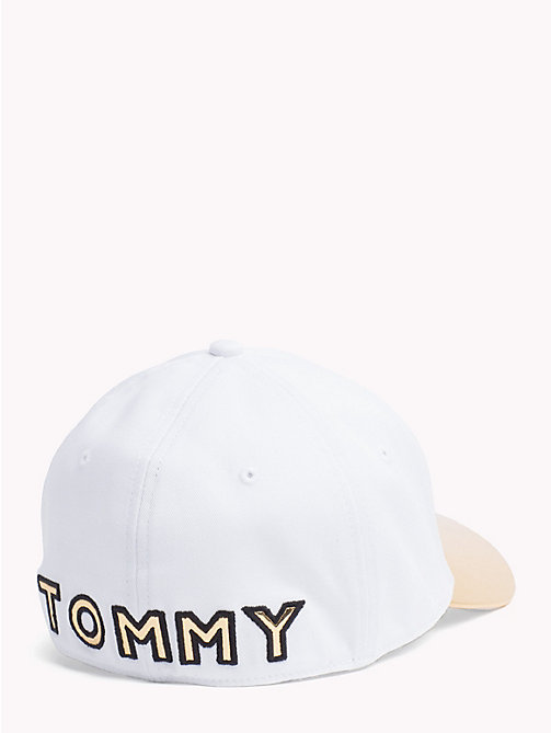 TOMMY HILFIGER Star Embroidery Cotton Cap - WHISPER WHITE - TOMMY HILFIGER Hats - detail image 1