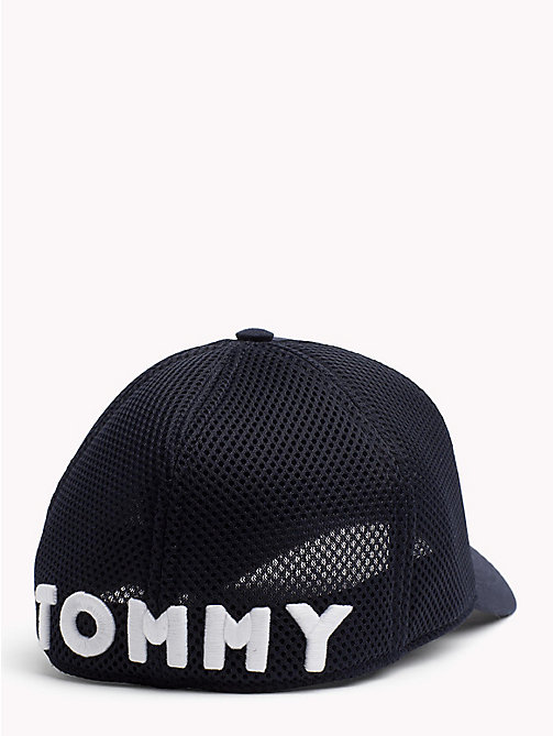 TOMMY HILFIGER Star Embroidery Cotton Cap - TOMMY NAVY - TOMMY HILFIGER Hats - detail image 1
