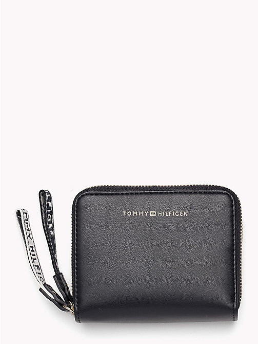 TOMMY HILFIGER Iconic Logo Zip Pull Wallet - CORPORATE MIX - TOMMY HILFIGER VACATION FOR HER - main image