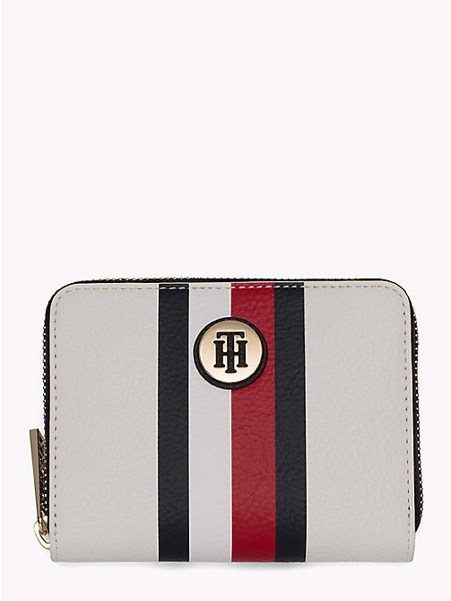 TOMMY HILFIGER Monogram Compact Zip Purse - CORPORATE - TOMMY HILFIGER VACATION FOR HER - main image