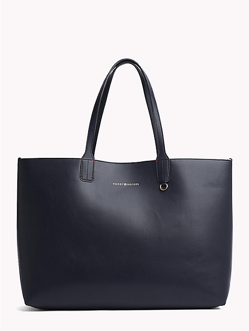 TOMMY HILFIGER Iconic Reversible Logo Tote Bag - CORPORATE MIX - TOMMY HILFIGER NEW IN - main image