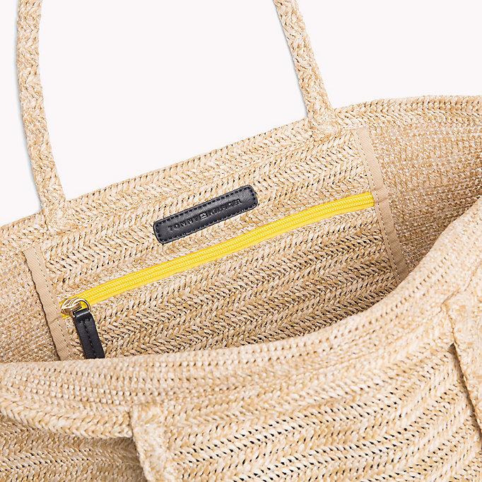 Raffia Explorer Tote Bag - Sales Up to -50% Tommy Hilfiger xHHEGeCN