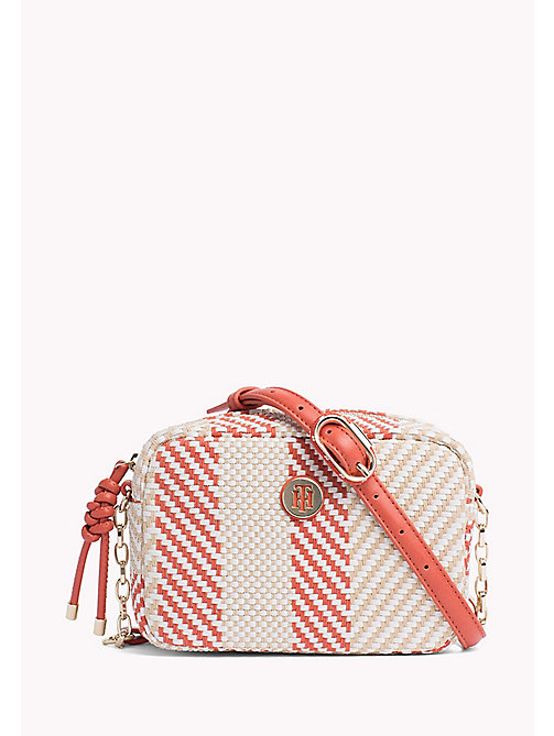 TOMMY HILFIGER Woven Crossover Bag - WOVEN - TOMMY HILFIGER VACATION FOR HER - main image