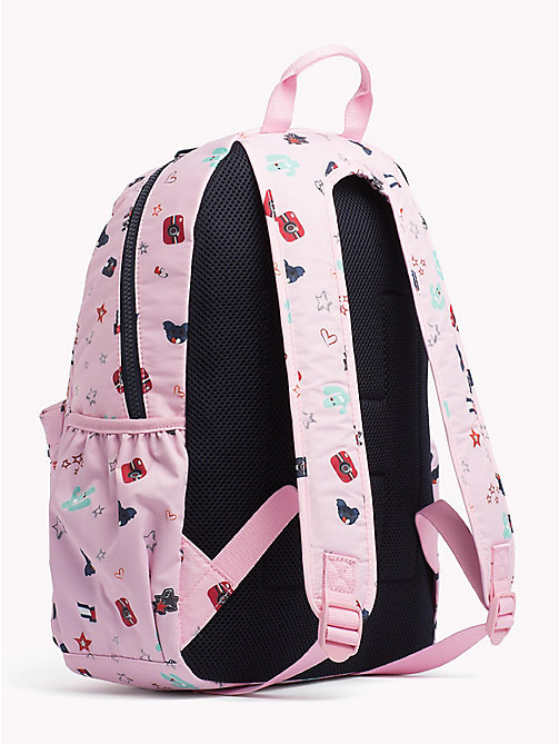 TOMMY HILFIGER Kids' Cactus Print Backpack - CACTUS PRINT - TOMMY HILFIGER Bags & Accessories - detail image 1