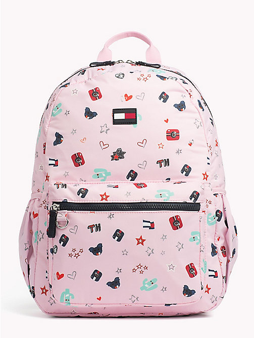 TOMMY HILFIGER Kids' Cactus Print Backpack - CACTUS PRINT - TOMMY HILFIGER Bags & Accessories - main image
