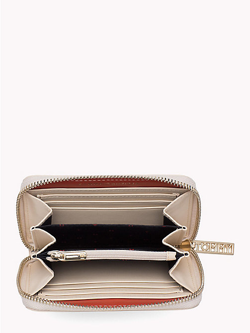 TOMMY HILFIGER Snake Effect Zip Purse - TAPIOCA SNAKE - TOMMY HILFIGER Accessories for the beach - detail image 1
