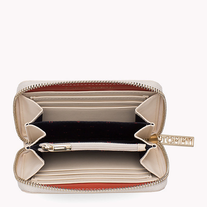 TOMMY HILFIGER Snake Effect Zip Purse - BLACK - TOMMY HILFIGER Women - detail image 2