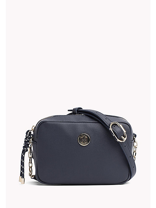 TOMMY HILFIGER Monogram Crossover Bag - TOMMY NAVY - TOMMY HILFIGER Crossbody Bags - main image