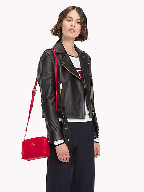 TOMMY HILFIGER Crossbodytas met monogram - TOMMY RED -  Crossbodytassen - detail image 1