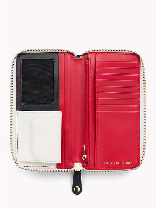 TOMMY HILFIGER Grand portefeuille colour-block - TOMMY NAVY -  Collection Colour-block - image détaillée 1