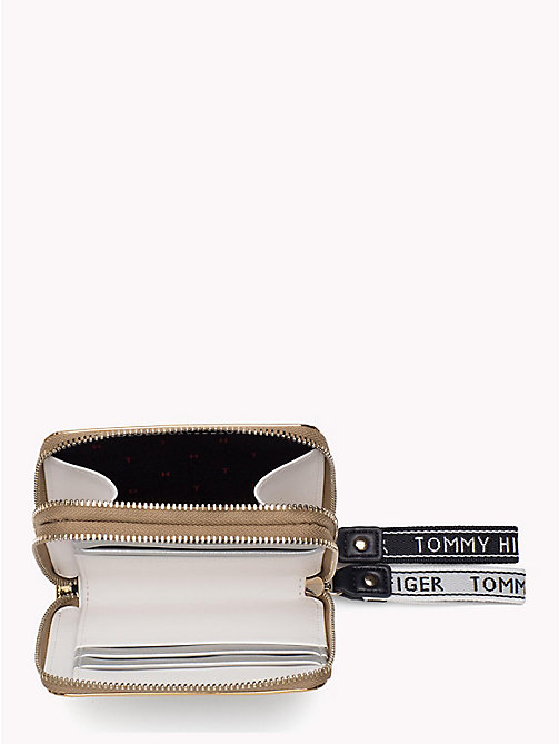 TOMMY HILFIGER Iconic Metallic Zip Purse - MIRROR METALLIC - TOMMY HILFIGER Wallets - detail image 1