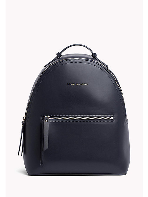 TOMMY HILFIGER Iconic Logo Strap Backpack - CORPORATE MIX - TOMMY HILFIGER Backpacks - main image