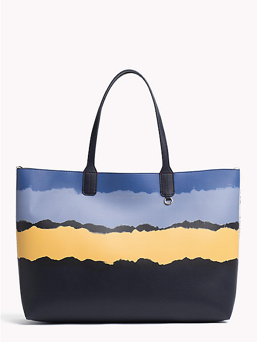 TOMMY HILFIGER Tie Dye Print Tote Bag - TIE DYE - TOMMY HILFIGER VACATION FOR HER - main image