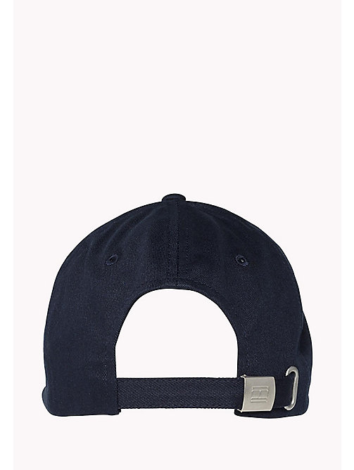 TOMMY JEANS Heart-Shaped Flag Baseball Cap - TOMMY NAVY - TOMMY JEANS Festivals Season - detail image 1