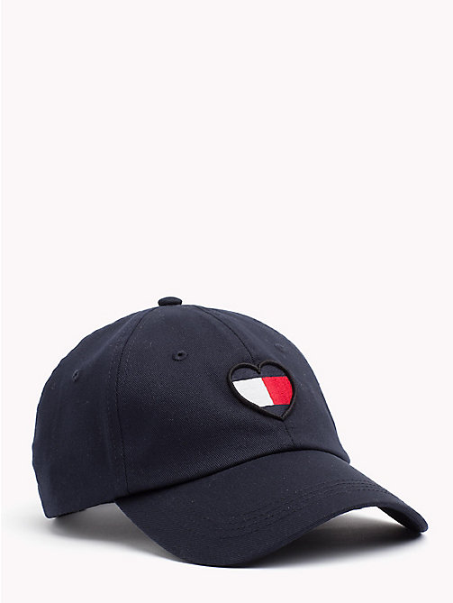 TOMMY JEANS Heart-Shaped Flag Baseball Cap - TOMMY NAVY - TOMMY JEANS Hats - main image