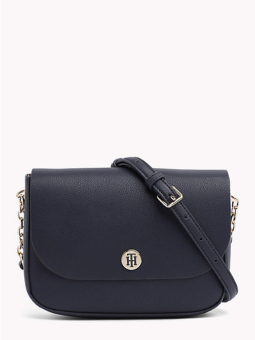 TOMMY HILFIGER Monogram Crossover Bag - TOMMY NAVY/ PAINTED STRIPE CORP - TOMMY HILFIGER Crossbody Bags - main image