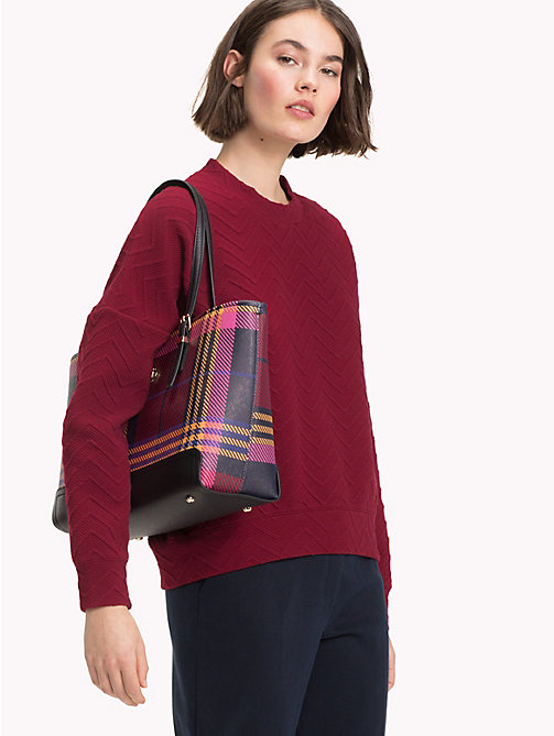 TOMMY HILFIGER Tote-Bag mit Monogramm - PICNIC CHECK - TOMMY HILFIGER NEW IN - main image 1