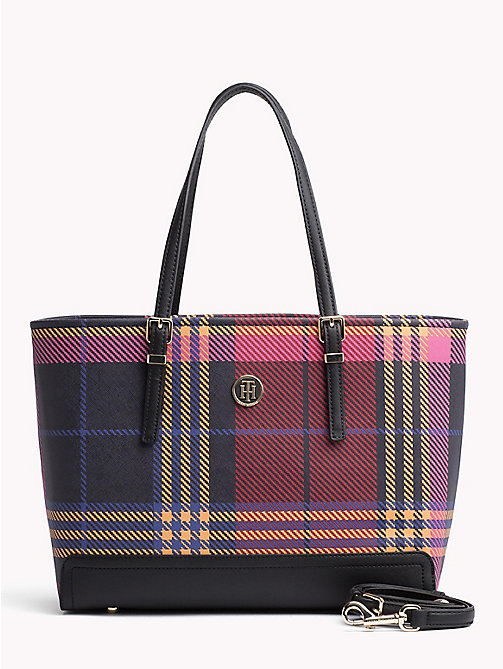 TOMMY HILFIGER Tote-Bag mit Monogramm - PICNIC CHECK - TOMMY HILFIGER NEW IN - main image