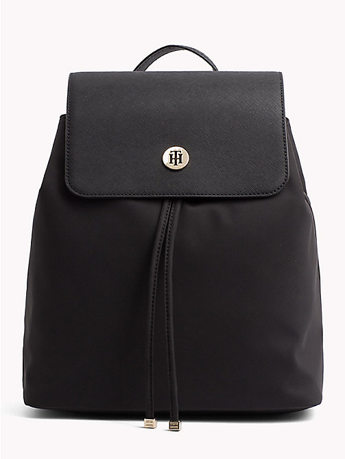 TOMMY HILFIGER Dressy Backpack - BLACK - TOMMY HILFIGER Backpacks - main image