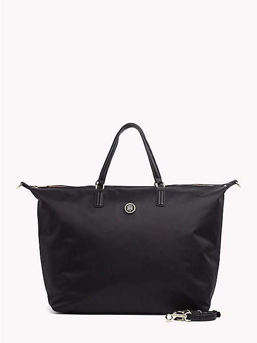 TOMMY HILFIGER Weekender Tote Bag - BLACK - TOMMY HILFIGER Bags & Accessories - main image