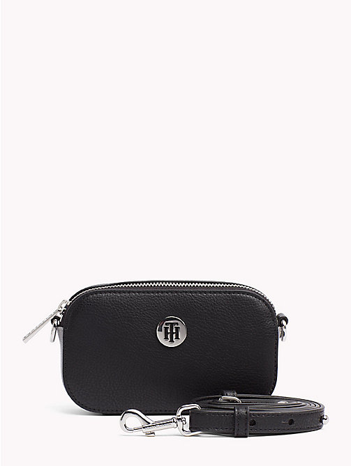TOMMY HILFIGER Tommy Core Compact Bag - BLACK - TOMMY HILFIGER Crossbody Bags - main image