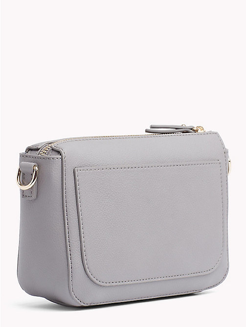 Charming Crossover Flap Bag - SILVER FILIGREE/ POW CHECK - TOMMY HILFIGER Crossbody Bags - detail image 1