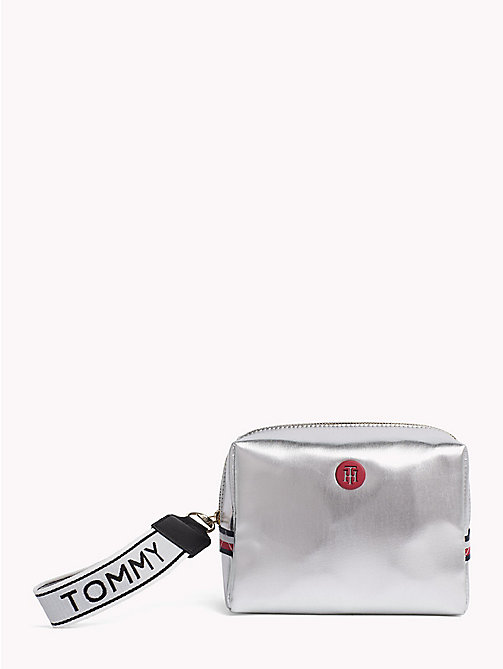 TOMMY HILFIGER Metallic Monogram Washbag - METALLIC - TOMMY HILFIGER NEW IN - main image