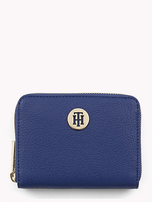 TOMMY HILFIGER Tommy Core Zip Wallet - MEZARINE BLUE/ JUNE BUG - TOMMY HILFIGER Black Friday Women - main image
