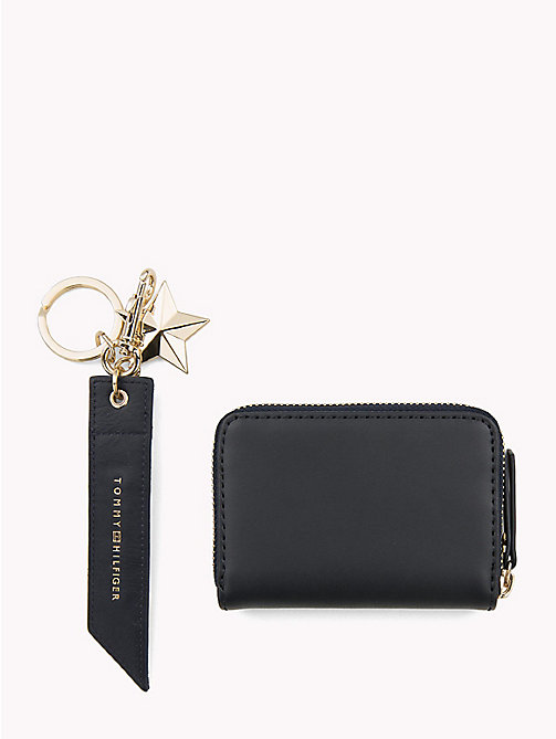 TOMMY HILFIGER Stars and Stripes Leather Gift Set - TOMMY NAVY - TOMMY HILFIGER Wallets & Keyrings - detail image 1