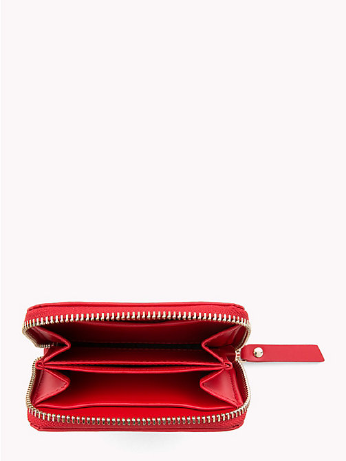 TOMMY HILFIGER Compact Tommy Leather Wallet - TOMMY RED - TOMMY HILFIGER Black Friday Women - detail image 1