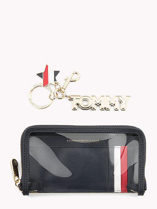 TOMMY HILFIGER Stars and Stripes Phone Case and Key Fob - CORPORATE MIX - TOMMY HILFIGER Keyrings - main image