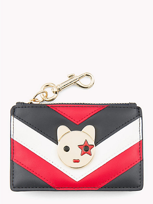 TOMMY HILFIGER Charm Cardholder - CORPORATE MIX - TOMMY HILFIGER Black Friday Women - main image