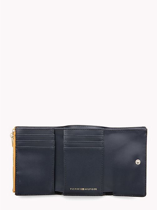 TOMMY HILFIGER Monogram Flap Wallet - SUNFLOWER - TOMMY HILFIGER Wallets - detail image 1