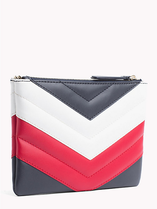 TOMMY HILFIGER Mascot Leather Pouch - CORPORATE - TOMMY HILFIGER Clutch Bags - detail image 1