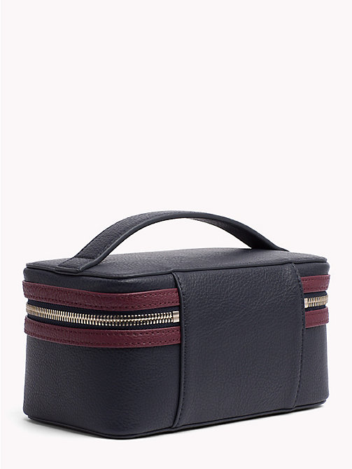 TOMMY HILFIGER Tommy Core Beauty Case - TOMMY NAVY/ BURGUNDY - TOMMY HILFIGER Make-up Bags - detail image 1