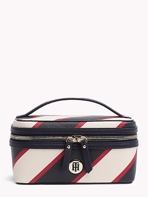 TOMMY HILFIGER Tommy Core beautycase - TIE STRIPE - TOMMY HILFIGER Make-up tassen - main image